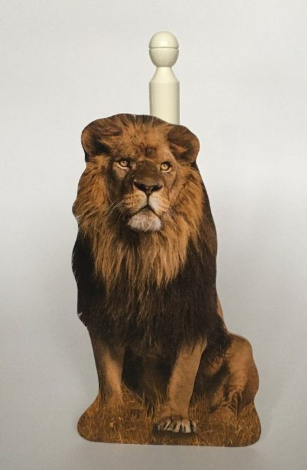 Lion Spare Toilet Roll Holder